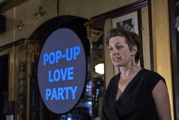 Zuppa's Pop-up Love Party, part of Derelict Springs. Photo: Garry Cook.
