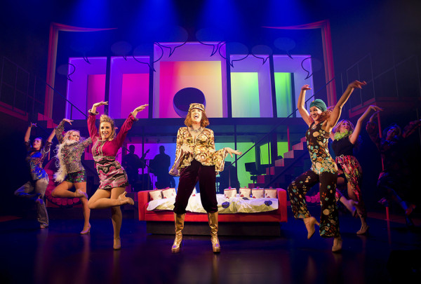 Jackie The Musical at Theatre Royal Brighton. Photo: Pamela Raith.