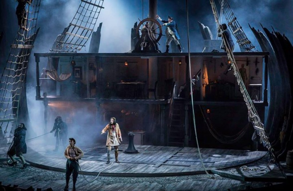 The dark magic of Clachan's design for Treasure Island at the National Theatre