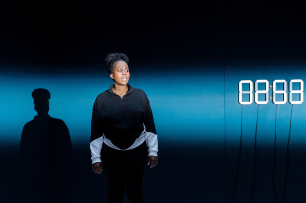 Petra Letang in random at Chichester Festival Theatre. Image: Manuel Harlan