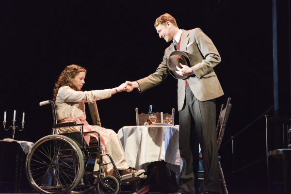 The Glass Menagerie at Nottingham Playhouse. Photo: Robert Day.