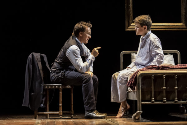 Jamie Parker and Sam Clemmett in Harry Potter And The Cursed Child. Photo: Manuel Harlan