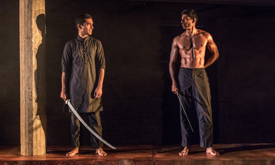 Guards at the Taj, Bush Theatre. Photo: Marc Brenner.