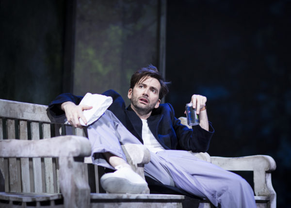David Tennant in Don Juan in Soho at Wyndham's Theatre. Photo: Helen Maybanks.