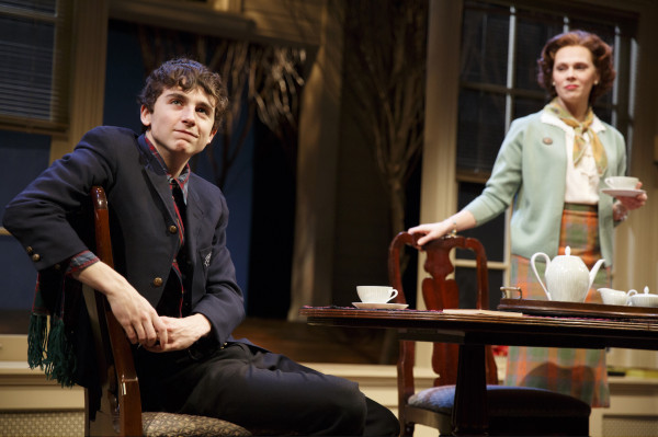 Timothée Chalamet and Annika Boras in Prodigal Son at New York City Center Stage 1. Photo: Joan Marcus.