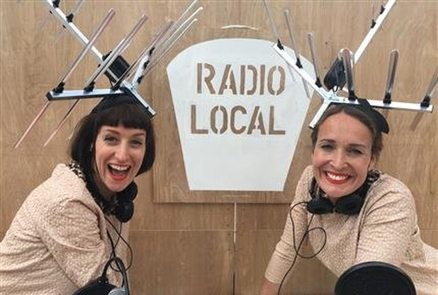 Hunt and Darton host 'Radio Local'.