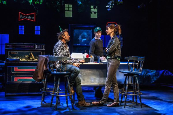 "Norbert Leo Butz, Noah Bean and Dolly Wells in The Whirligig."" Photo: Monique Carboni"