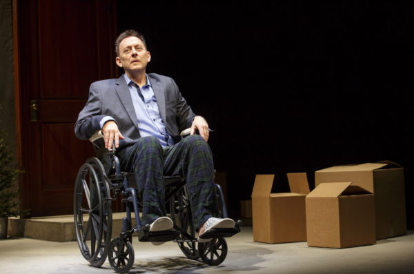 Michael Emerson in Wakey Wakey. Photo: Joan Marcus