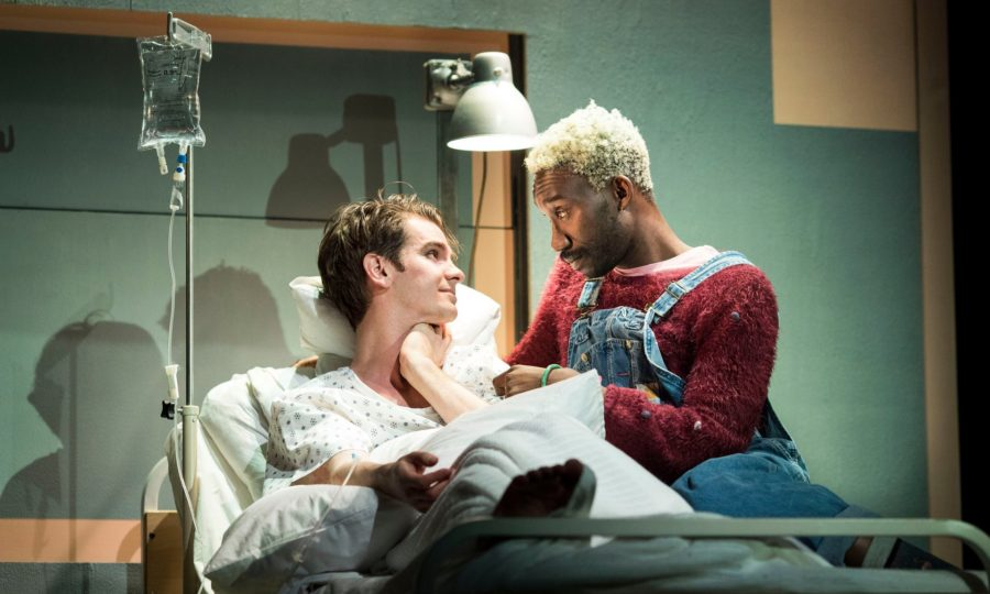 Angels In America, National Theatre. Photo: Helen Maybanks.