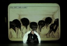 Grief is the Thing with Feathers at Barbican. Photo: Colm Hogan.