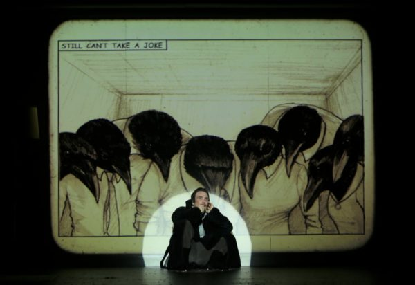 Review: Grief is the Thing with Feathers at the Barbican