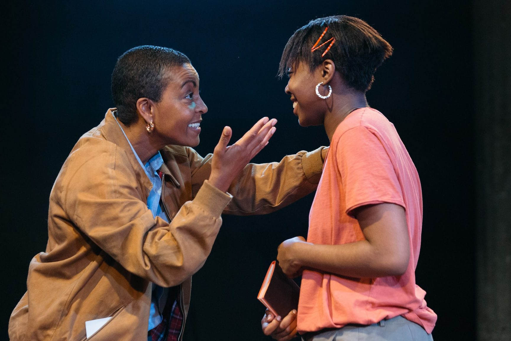 Leave Taking, Bush Theatre. Photo: Helen Murray.