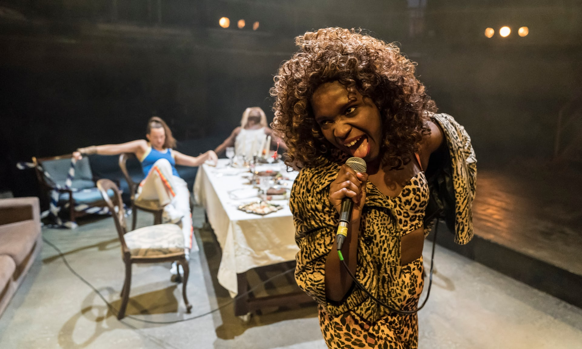 Temi Wilkey in 'Jubilee' at Royal Exchange, Manchester. Photo: Johan Persson