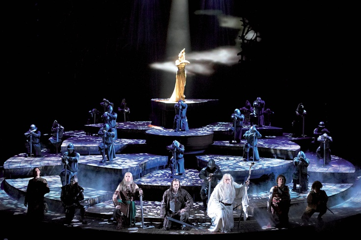 Literal fantasy theatre - Lord of the Rings, the musical. Photo: Manuel Harlan