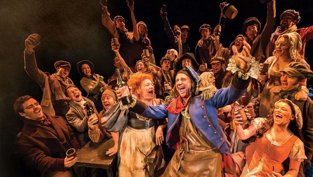 The London cast of Les Miserables