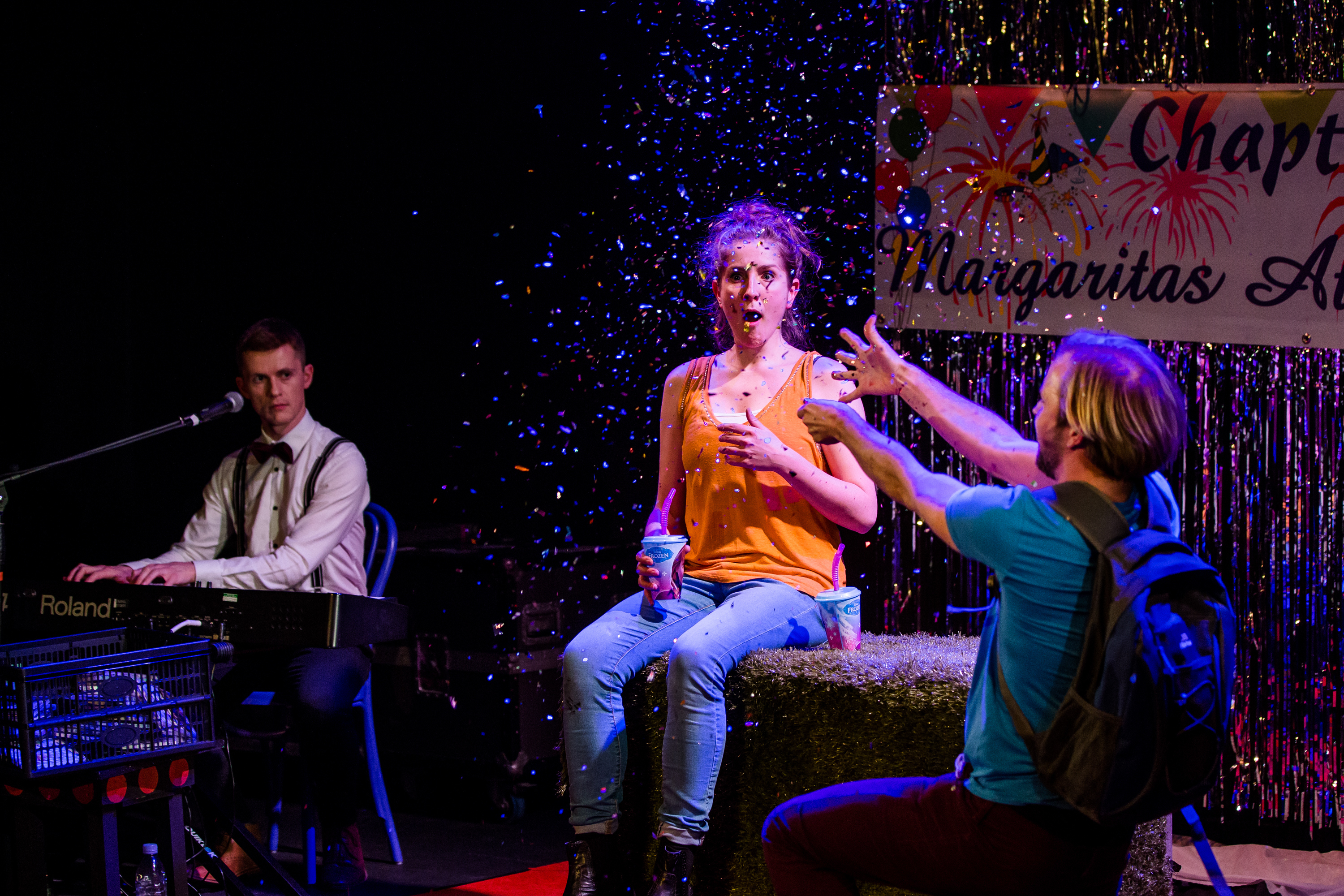 A Super Happy Story (About Feeling Super Sad) at Pleasance Courtyard.