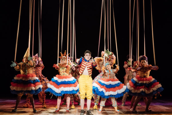 Pinocchio at the National Theatre.