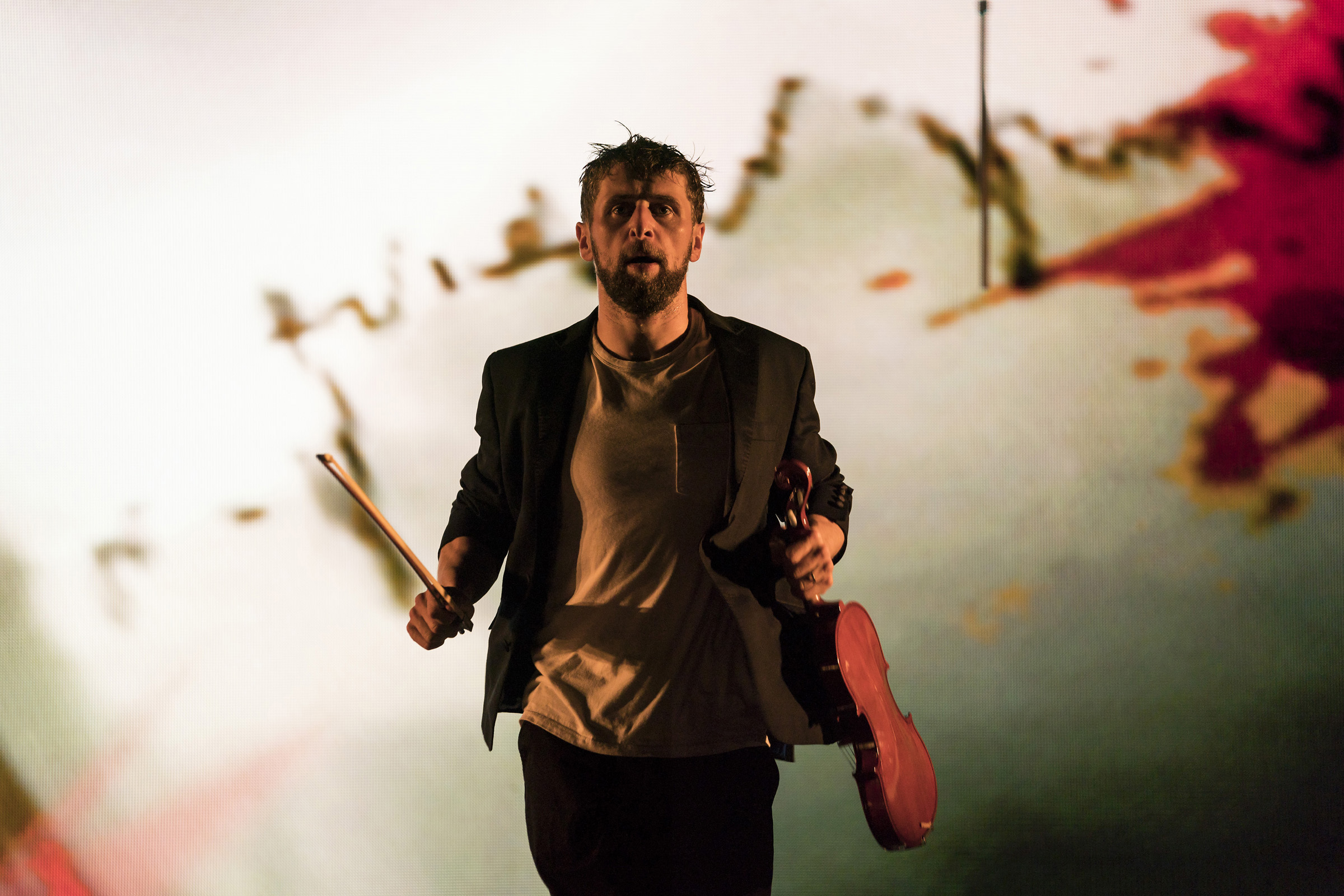 Aaron Monaghan as Martin in The Second Violinist at the Galway International Arts Festival. Photo: Patrick Redmond.