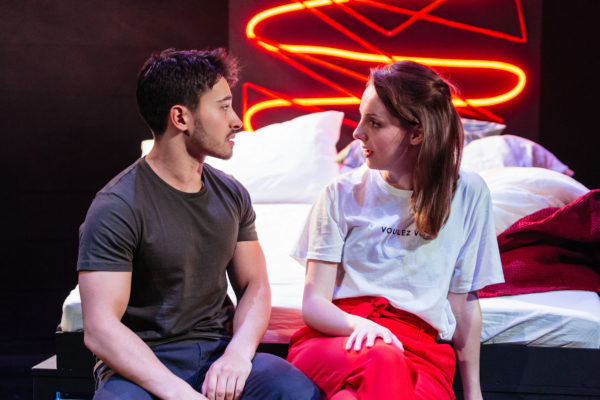 Love Me Now at the Tristan Bates Theatre. Photo: Helen Murray