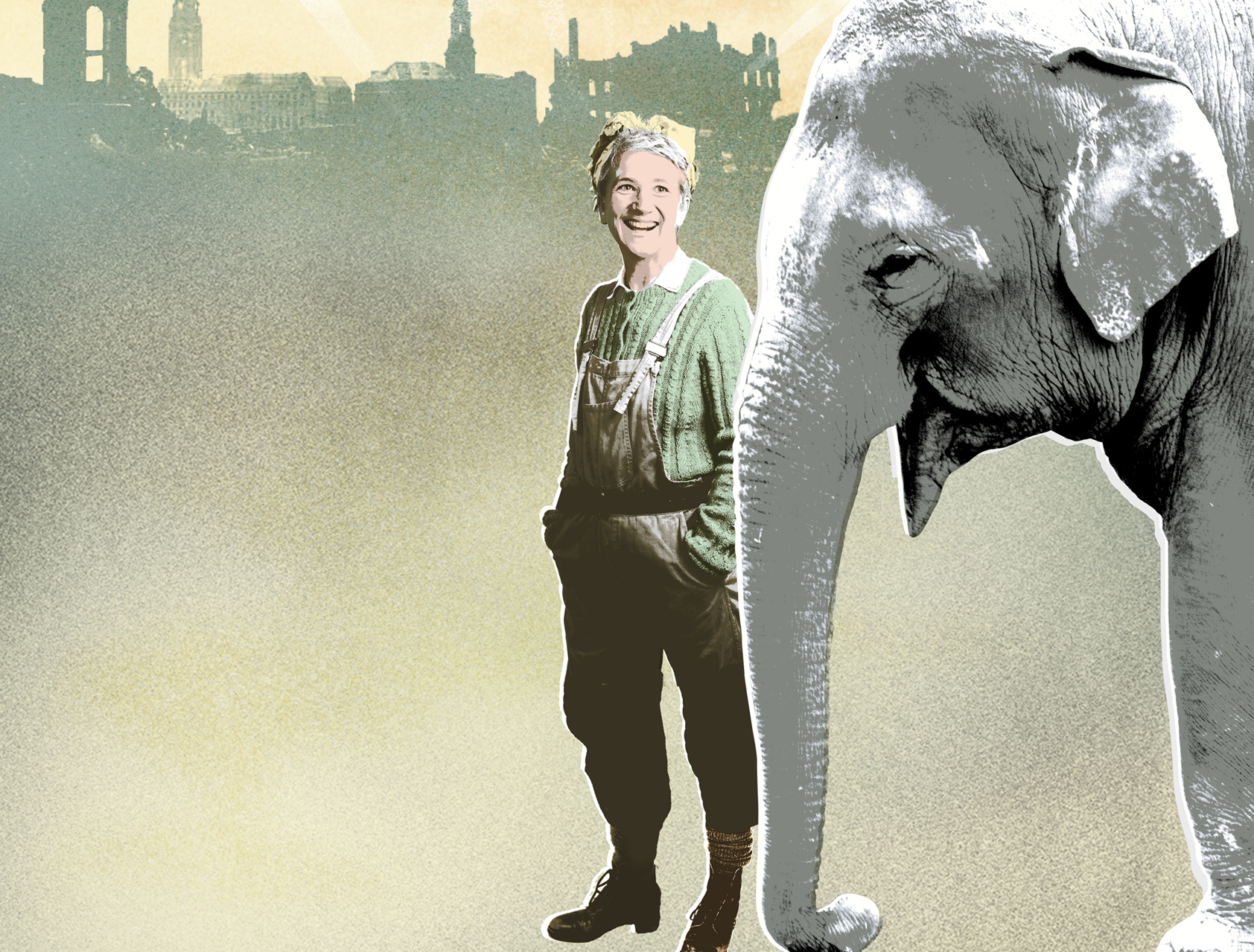 review an elephant in the garden at bristol old vic studio exeunt magazine