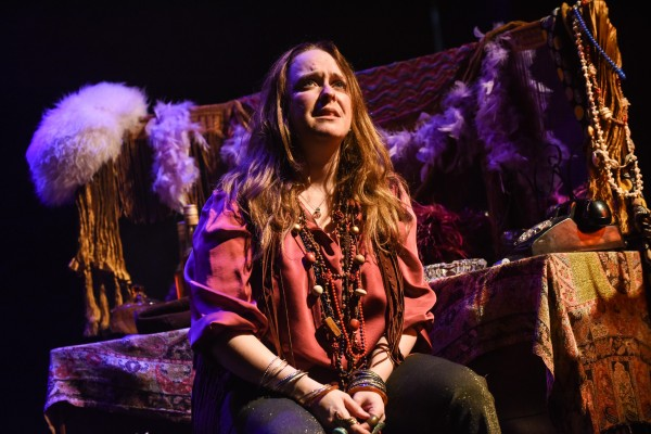 Angie Darcy in Janis Joplin: Full Tilt at Theatre Royal Stratford East. Photo: Robert Day.