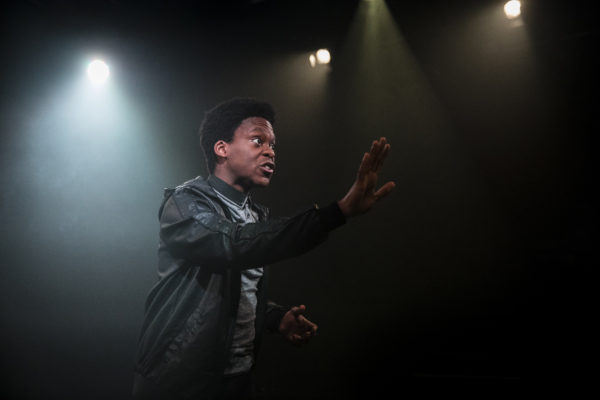 Angry at Southwark Playhouse. Photo: Matt Martin Photography.