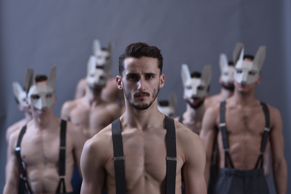 Life, performed by BalletBoyz at Sadler's Wells. Photo: Hugo Glendinning.