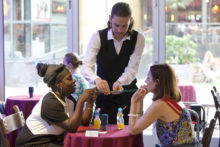 Review: Binaural Dinner Date at Theatre Royal Stratford East (Gerry's Bar)
