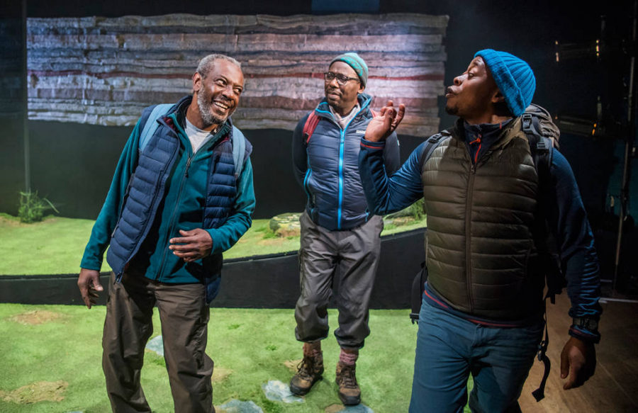 Black Men Walking, Royal Court Theatre. Photo: Tristram Kenton.