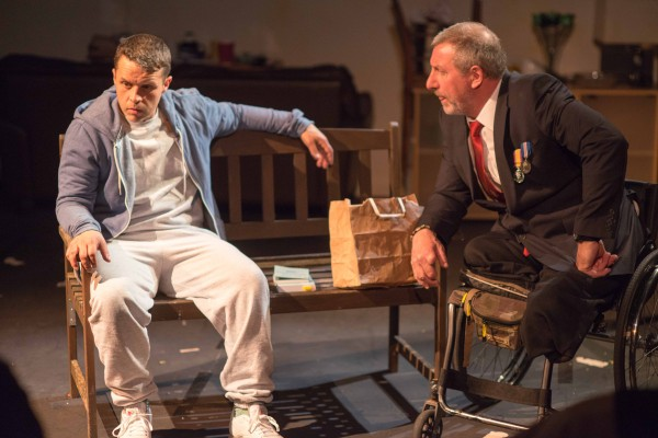Review: Blue on Blue at the Tristan Bates Theatre
