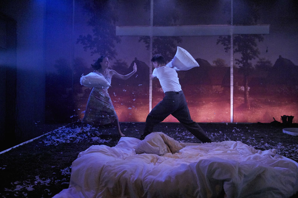'This Beautiful Future' at The Yard Theatre. Photo: Richard Lakos