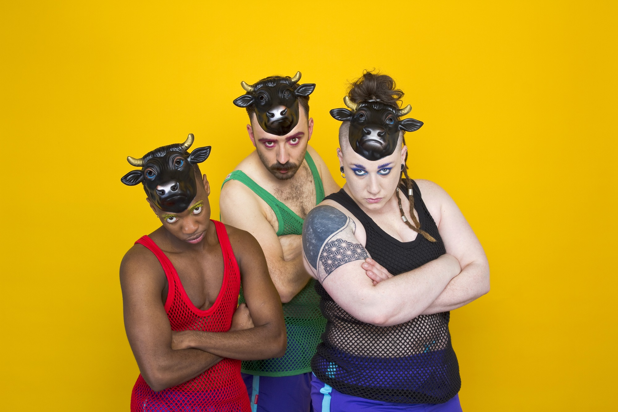 'Bullish' at Camden People's Theatre. Photo: Field & McGlynn