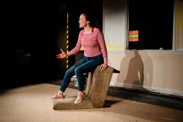 Bunny at the White Bear Theatre. Photo: Dashti Jahfar.