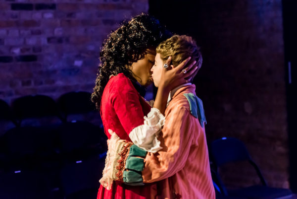 Callisto: a queer epic at the Arcola Theatre. Photo: Lidia Crisafulli.