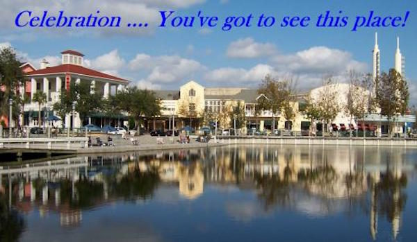 Celebration, Florida, the town that Disney built.
