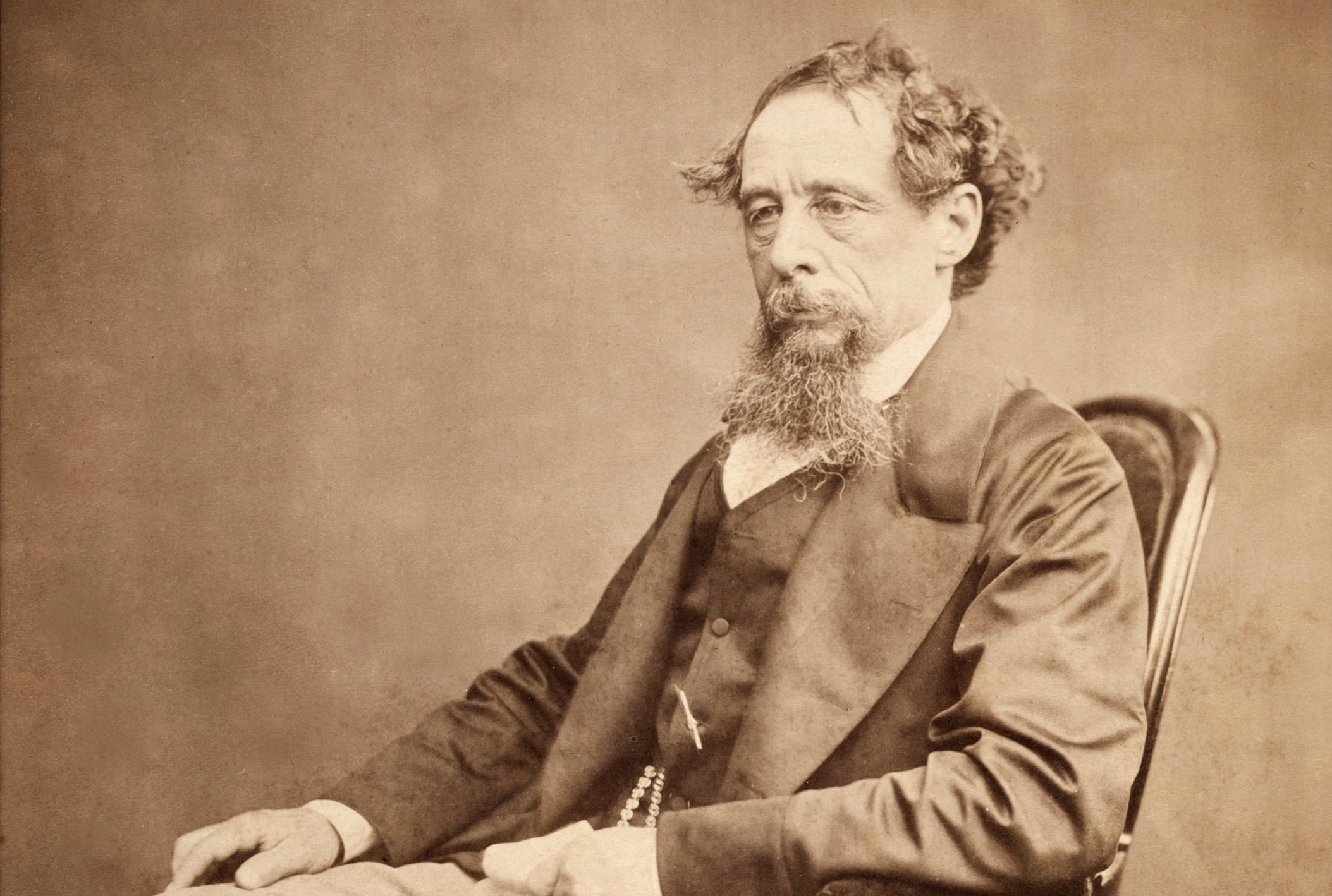 Charles Dickens c.1860s. Photo: Wikimedia Commons.