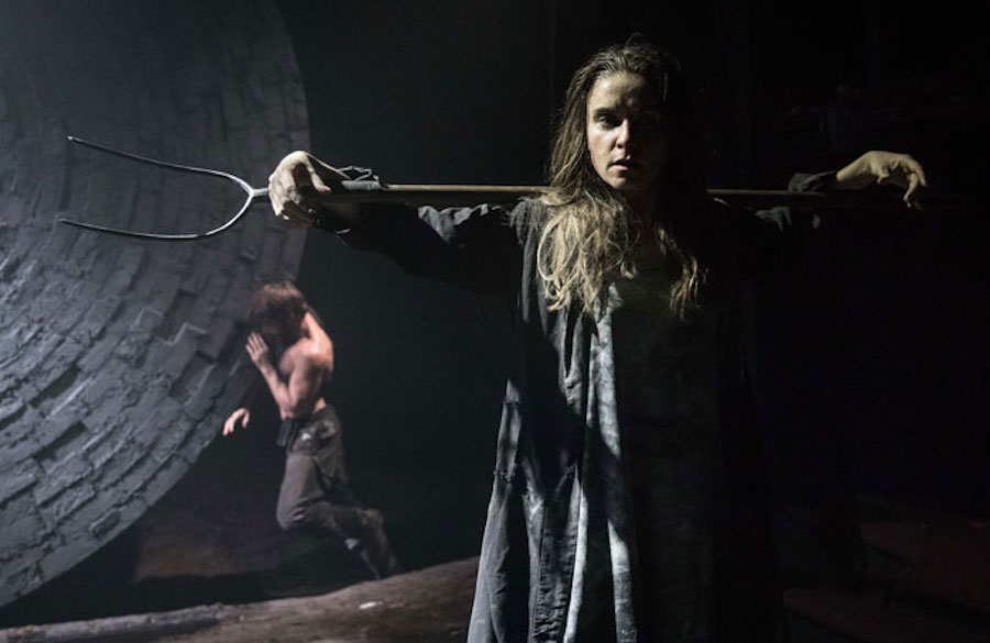 Knives in Hens at the Donmar Warehouse. Photo: Marc Brenner.