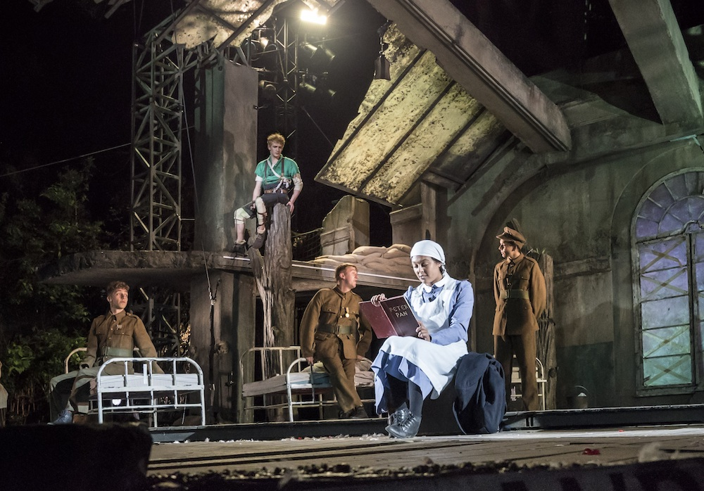 Peter Pan at the Regent's Park Open Air Theatre. Photo: Johan Persson.