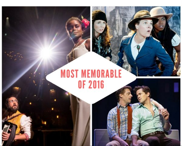 Most Memorable Shows of 2016 (Photo: Chad Batka, Elke Young, Joan Marcus)