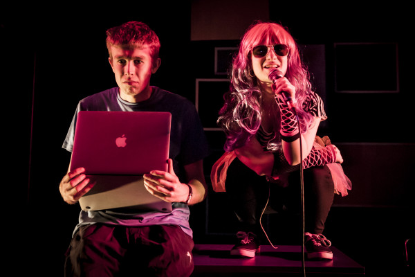 Darknet at Southwark Playhouse. Photo: Lidia Crisafulli.