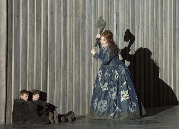 Marjorie Owens in Norma at the London Coliseum. Photo: Alastair Muir.