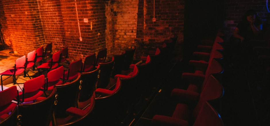 The Bike Shed Theatre's auditorium