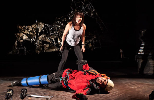 Touching the Void at Bristol Old Vic. Photo: Geraint Lewis