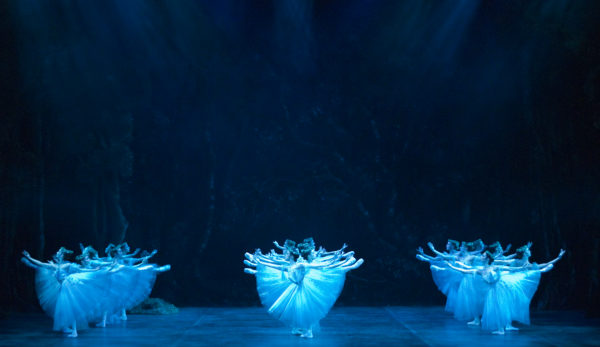 Act Two of Giselle at the London Coliseum. Photo: Patrick Baldwin.