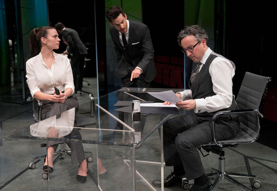 Dry Powder at the Hampstead Theatre. Photo: Alastair Muir