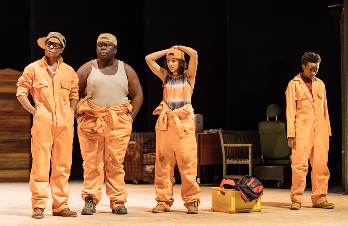Holes, Nottingham Playhouse. Photo: Manuel Harlan.