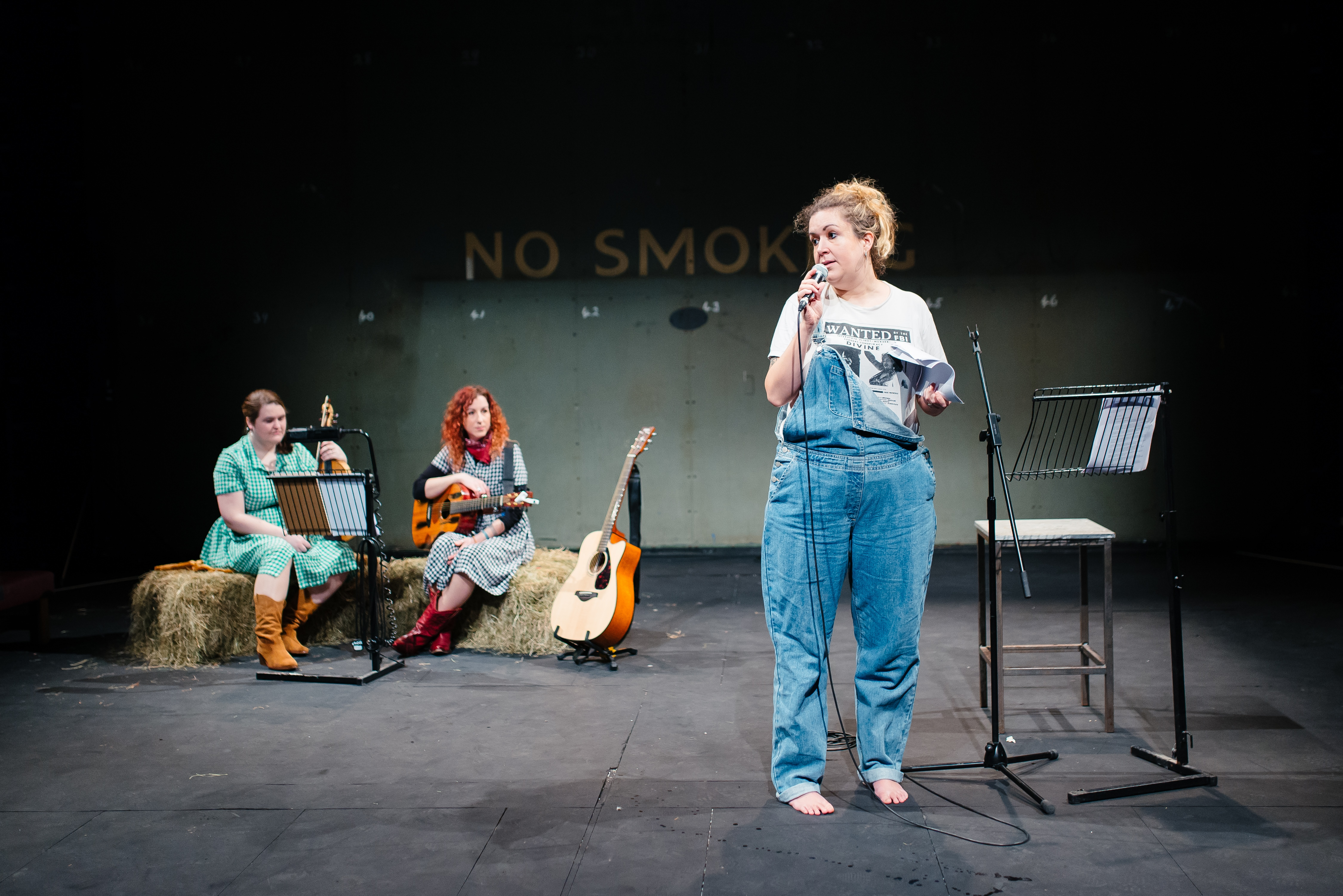 Amy Mason in Hollering Woman Creek at Bristol Old Vic. Photo: Bristol Old Vic Ferment