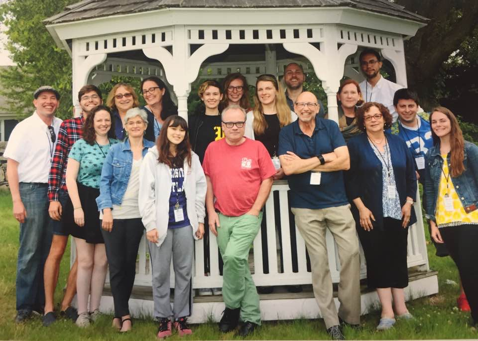 The attendees and staff of Eugene O'Neill Theater Center's critic development program.