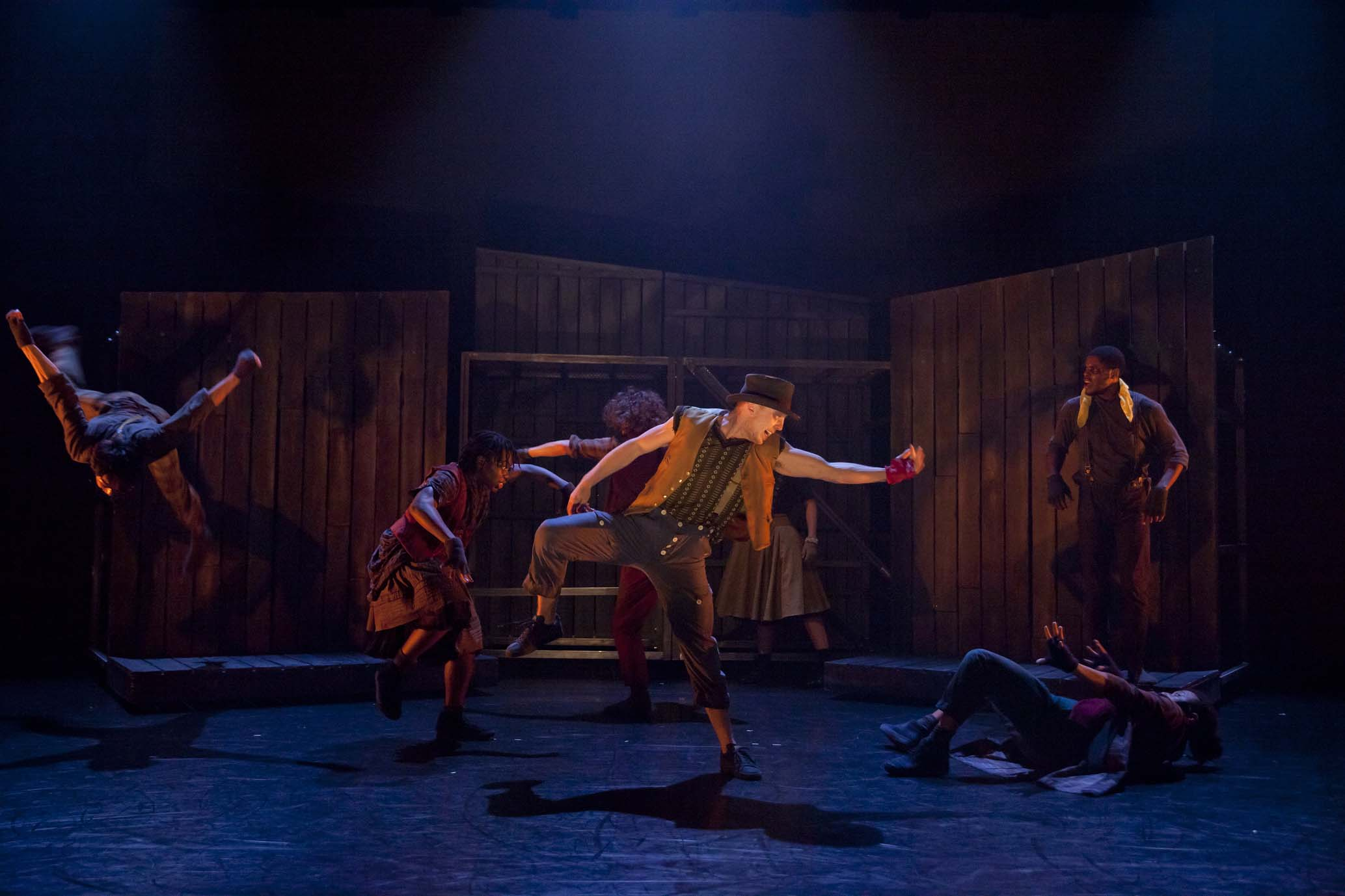 Fagin's Twist at The Place. Photo: Rachel Cherry