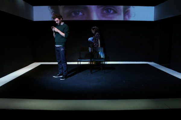 Screens at Theatre503. Photo: Pank Sethi.